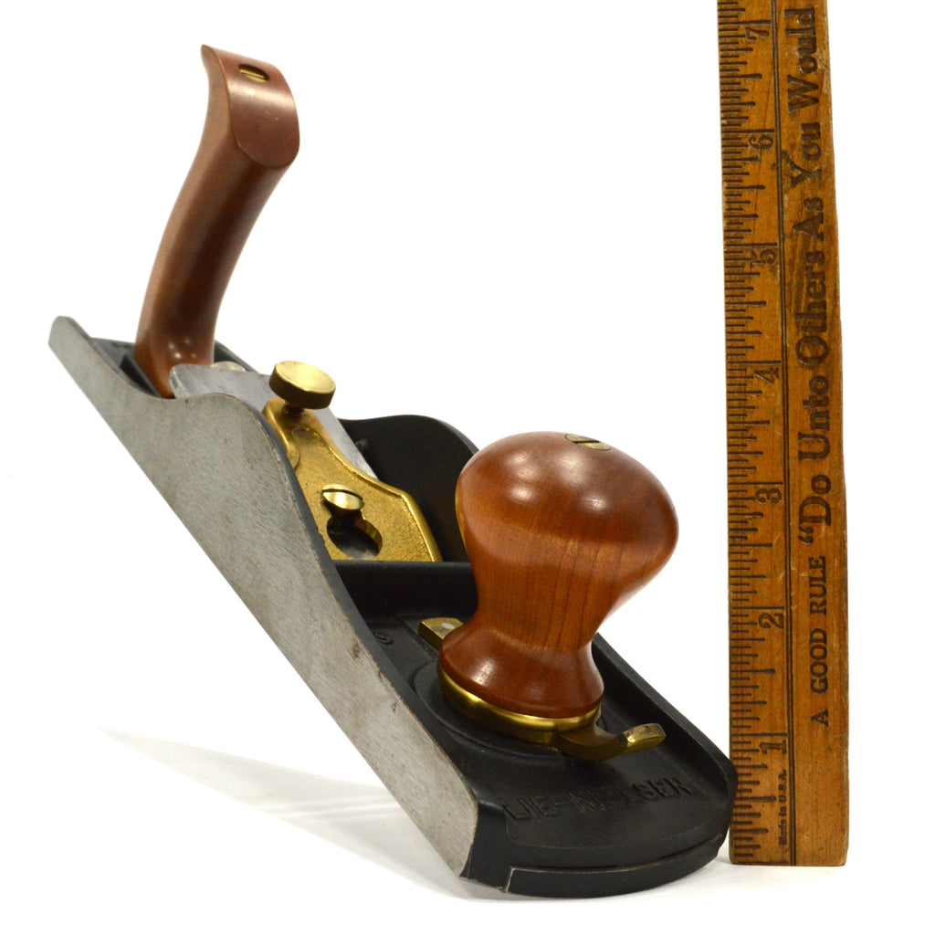 Stanley Inspired LIE NIELSEN (L-N) LOW ANGLE JACK PLANE No. 62 Smooth BRONZE CAP