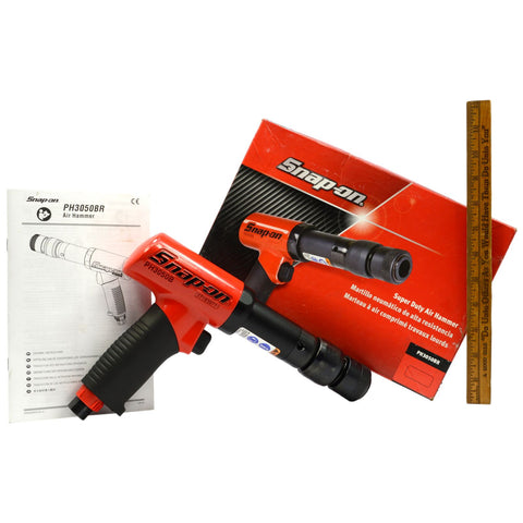 Used Once! SNAP-ON SUPER DUTY AIR HAMMER No. PH3050BR Pneumatic COMPLETE IN BOX!