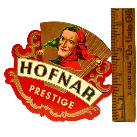 Vintage CIGAR BOX LABEL New/Never Used HOFNAR 'PRESTIGE' Multiple Available RARE