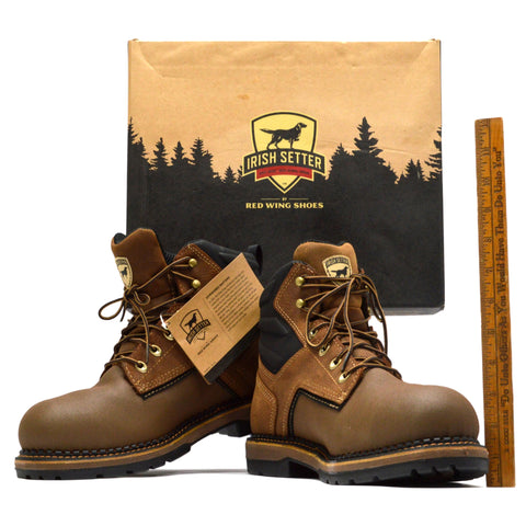 "New in Box! IRISH SETTER ""RAMSEY 2.0"" WORK BOOTS #83648 by RED WING Size: 11 EE"