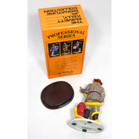 "In Box EMMETT KELLY ""FIREMAN"" CLOWN #9593 Porcelain ""PROFESSIONAL SERIES"" c.1987"