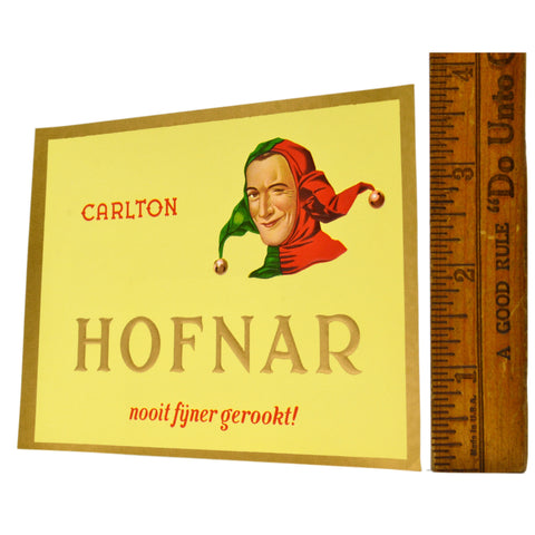 Vintage CIGAR BOX LABEL New/Never Used HOFNAR 'CARLTON' Multiple Available! RARE
