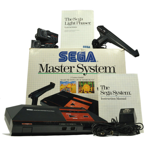 Vintage SEGA MASTER SYSTEM No. 3000 Complete in Box! TESTED PERFECT Tonka, 1988