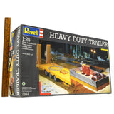 "100% Complete! REVELL 1:25 Scale Model Kit ""HEAVY DUTY TRAILER"" #7542 from 1992"