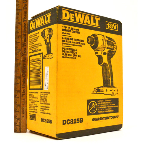 "New in Box! DeWALT 1/4"" IMPACT DRIVER (Tool Only) #DC825B Multiple Available!!"