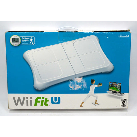 "New (Opened Box) NINTENDO Wii Fit U ""BALANCE BOARD + FIT METER SET"" Never Used"