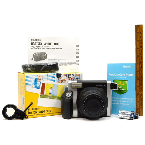 "Brand New! FUJIFILM ""INSTAX WIDE 300"" INSTANT CAMERA Complete in Box! (NO FILM)"