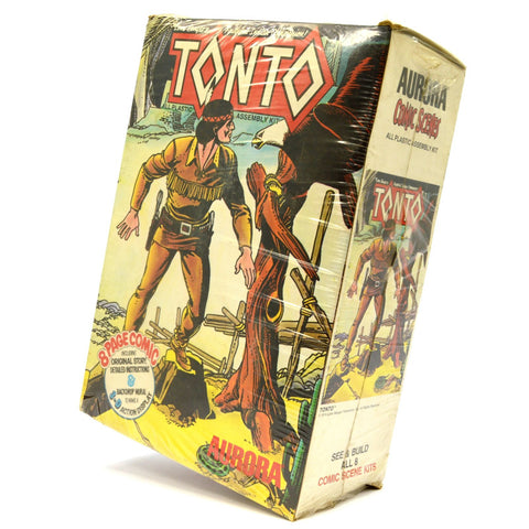 Vintage LONE RANGER TONTO Plastic Model Kit No. 183 by AURORA, 1974 Sealed! NIB!