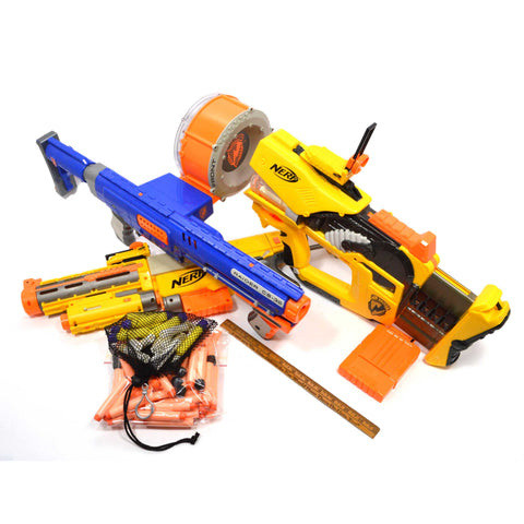 Tested NERF LOT; 3-GUNS & More! RAIDER CS-35 Recon FIREFLY 86 Bullets & MORE +!