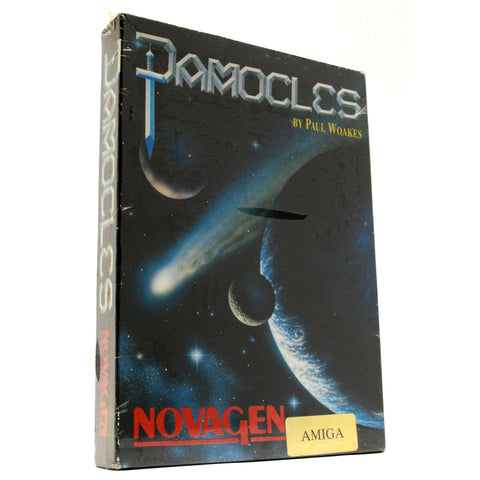 "New! AMIGA ""DAMOCLES"" COMPUTER GAME by Paul Woakes *NTSC VERSION* Factory Sealed"