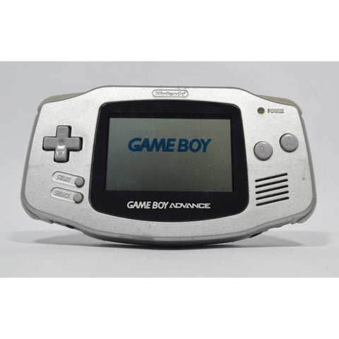 Tested Good! NINTENDO GAME BOY ADVANCE Lt. Gray SILVER Mo. ABG-001 WORKS GREAT!
