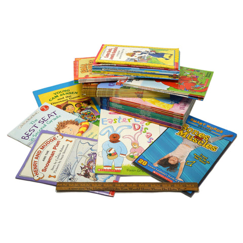 Educational KID'S READING BOOK Lot of 40 Learning I CAN READ Reader's Clubhouse+
