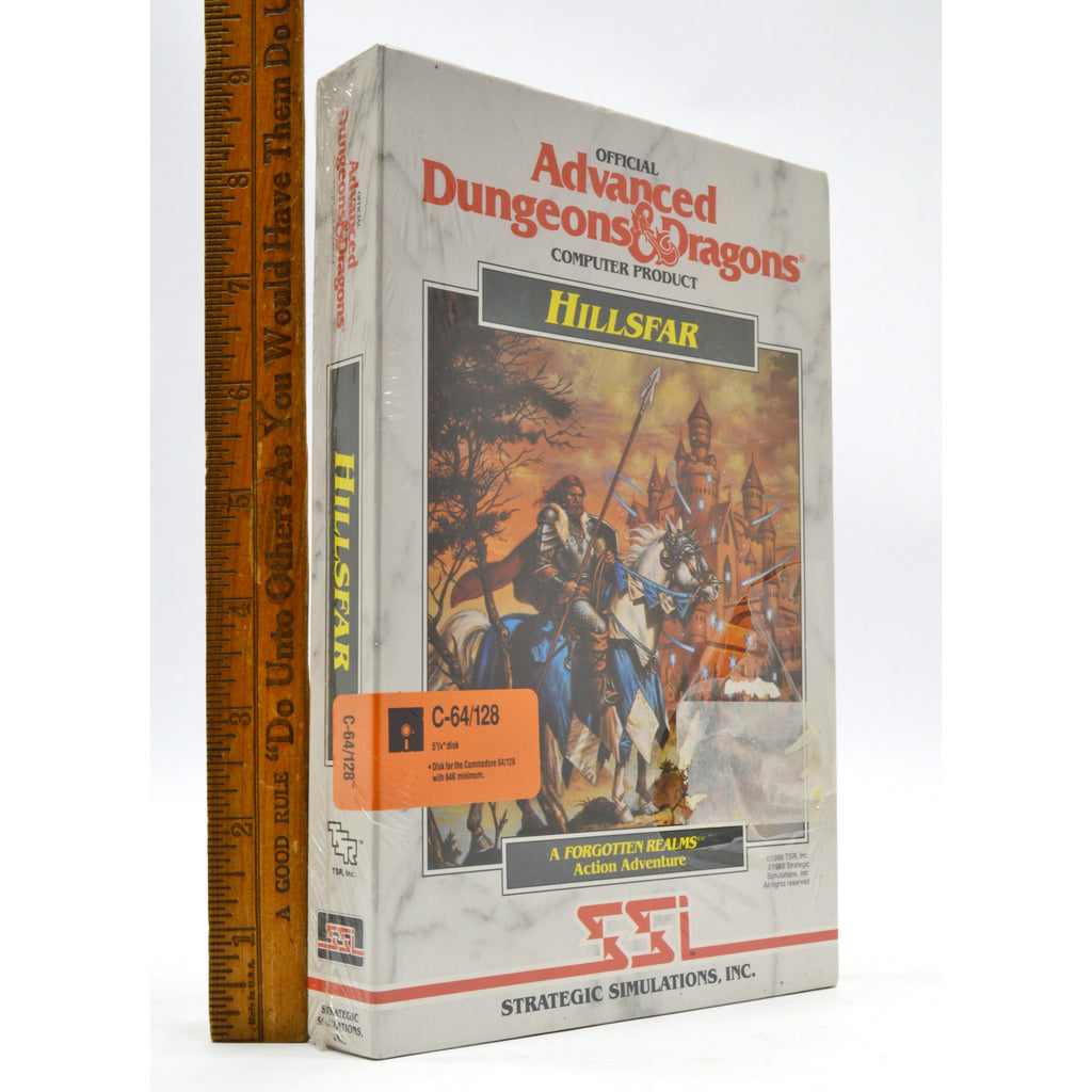 Brand New! COMMODORE C-64/128 Advanced D&D Game