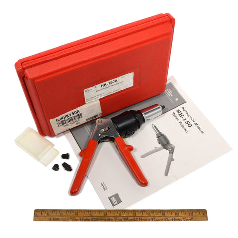 "New Open Case ALCOA-HUCK FASTENERS HK-150A ""Manual Hydraulic Installation Tool"""