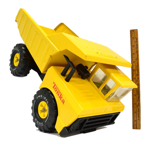 "Vintage c.1978 TONKA DUMP TRUCK Yellow ""XMB-975"" No. 54070 EXCELLENT CONDITION!!"
