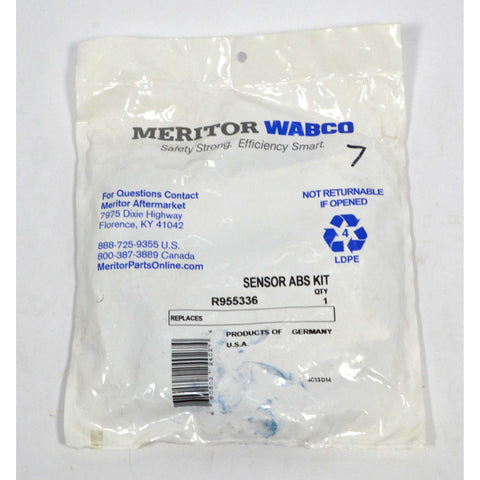 "New MERITOR WABCO ""SENSOR ABS KIT"" No. R955335 *Multiple Avail* FACTORY SEALED!"