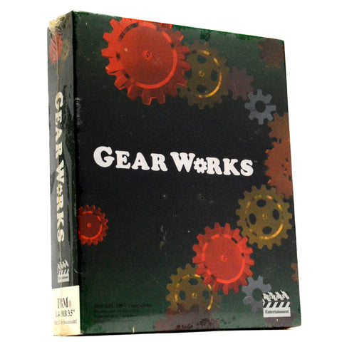 "Factory Sealed! IBM 1.44 MB & PC ""GEAR WORKS"" Computer PUZZLE GAME Brand New!!"