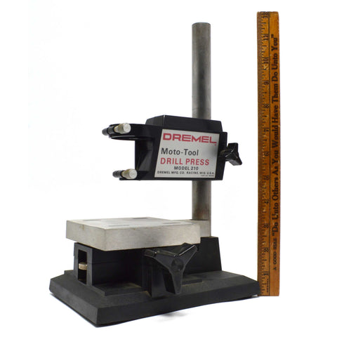 Briefly Used DREMEL MOTO-TOOL DRILL PRESS Mo. 210 Arts & Crafts HOME WORKSHOP +