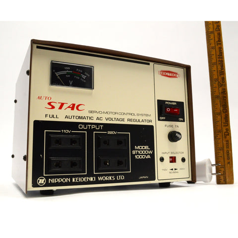 "Briefly Used DACTRON ""Auto Stac"" SERVO-MOTOR CONTROL SYSTEM Mo. ST1000W 1000VA"
