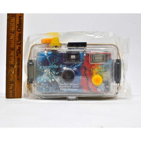 "Brand New! UNDER WATER 35MM FLASH CAMERA Reloadable ""CAPTURE THE SEA"" Sealed!!"