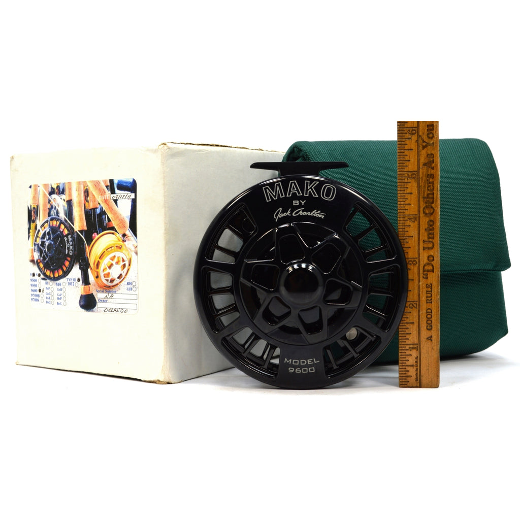 New in Box! MAKO by JACK CHARLTON Model 9600B LARGE SALTWATER REEL Right Hand R.