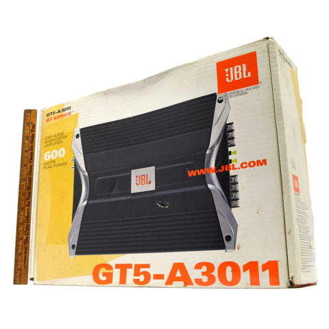 New in Open Box JBL 600 WATTS SUBWOOFER AMPLIFIER #GT5-A3011 Car Audio GT SERIES