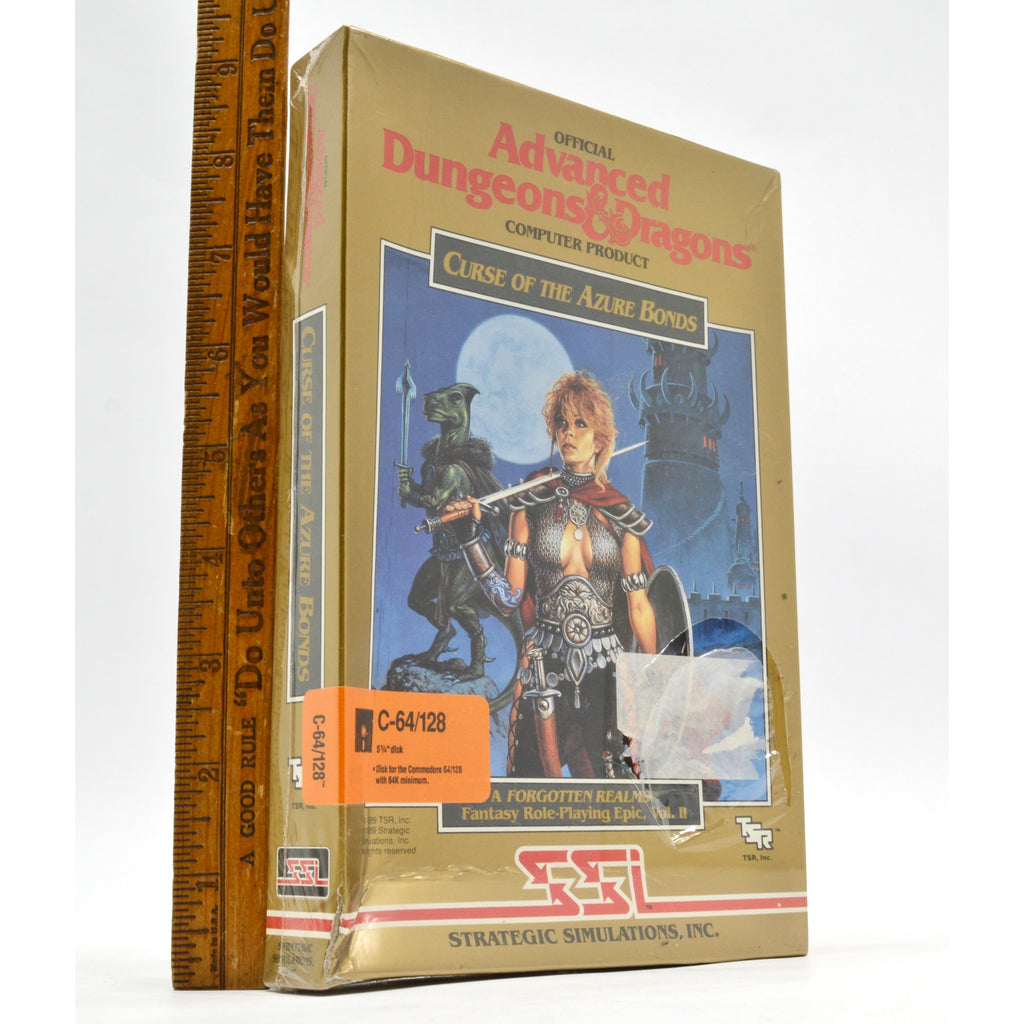 Brand New! COMMODORE C-64/128 D&D Game