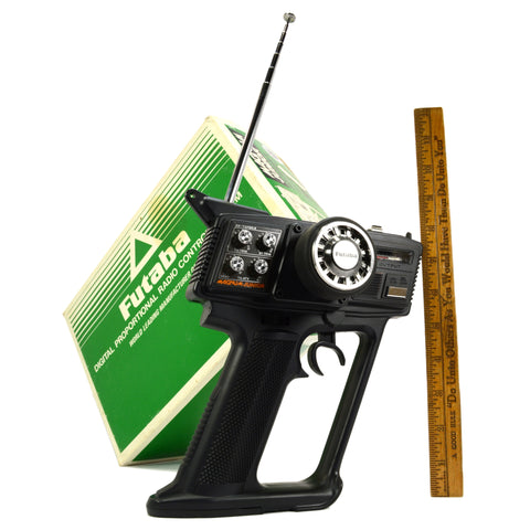 New in Box! FUTABA MAGNUM JUNIOR No. FP-2PBKA RADIO CONTROL REMOTE 2-Channel R/C
