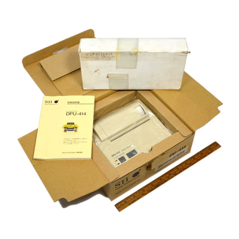 New (Open Box) SEIKO THERMAL PRINTER #DPU-414 +Box of 5-Paper Rolls NAP-0112-025