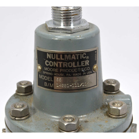 Maybe Used NULLMATIC CONTROLLER No. 55 PNEUMATIC TRANSMITTER by MOORE PRODUCTS