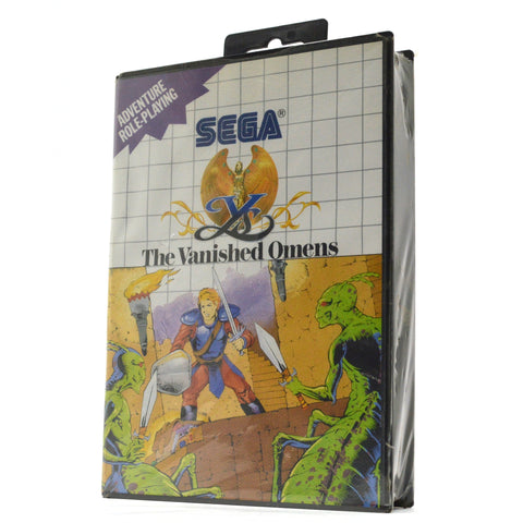"New!! SEGA MASTER SYSTEM ""THE VANISHED OMENS"" SMS Video Game FACTORY SEALED RPG!"