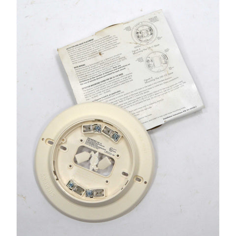 "New! SIEMENS ""MODEL DB-11/-11E DETECTOR BASE"" p/n 500-094151-E *MULTIPLE AVAIL.*"