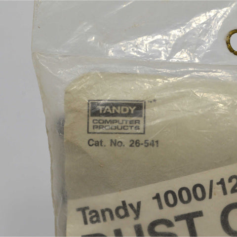 "Brand New ""TANDY 1000/1200/2000 DUST COVER"" Cat. No. 26-541 Factory Sealed RARE"