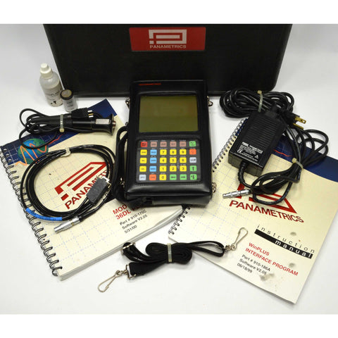 "Clean! PANAMETRICS by OLYMPUS Mo. 36DL Plus ""ULTRASONIC THICKNESS GAUGE"" Tester"