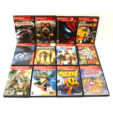 Great PLAYSTATION 2 GAME Lot of 24 PS2 Games! FINAL ...