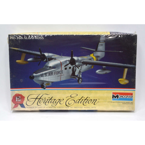New! MONOGRAM AIRPLANE MODEL KIT Heritage Edition HU-16B ALBATROSS 1:72 Sealed