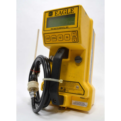 "Used ""EAGLE"" HANDHELD / PORTABLE MULTI-GAS DETECTOR Type 201 by RKI INSTRUMENTS"