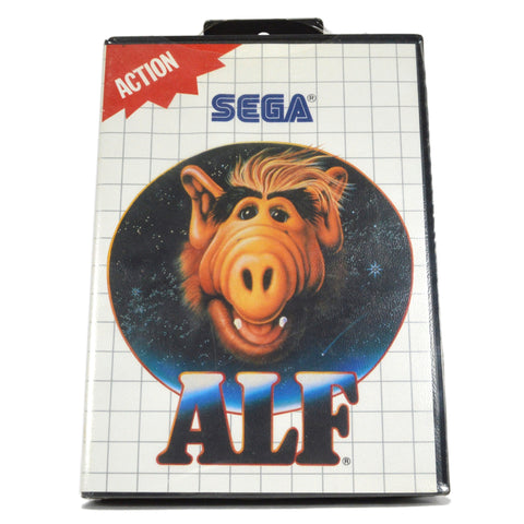 "Brand New! SEGA MASTER SYSTEM (SMS) ""ALF"" Factory Sealed! ACTION TV-VIDEO GAME!!"