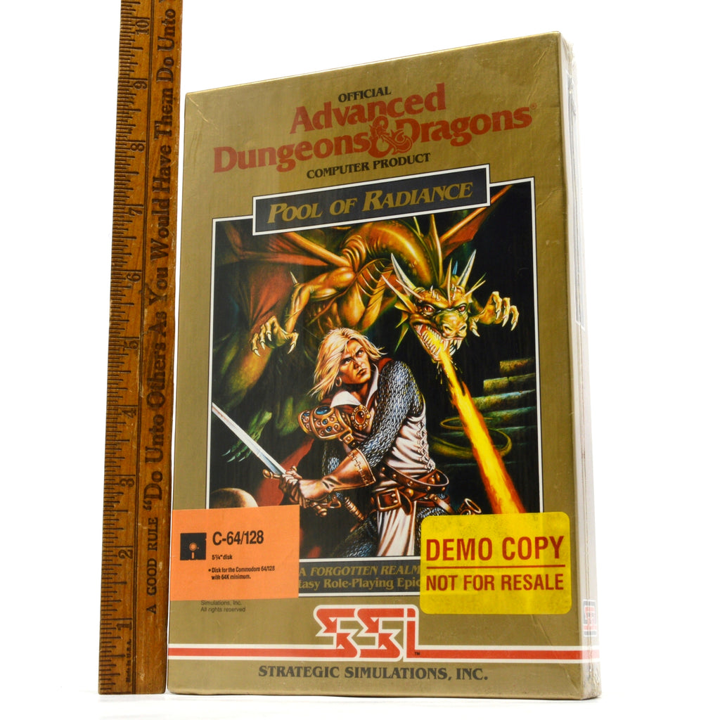 Brand New COMMODORE C-64/128 Sealed! D&D GAME