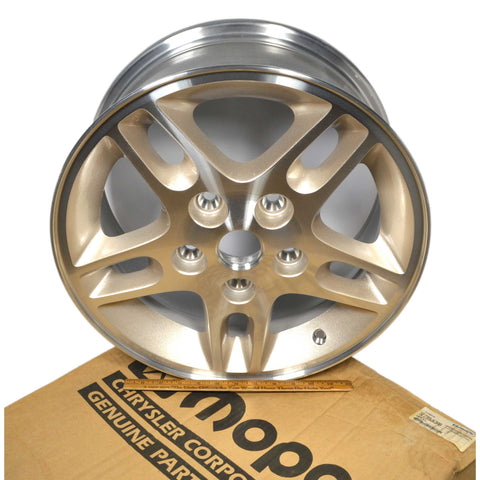 New-Open-Box MOPAR JEEP CHEROKEE WHEEL #5EZ99WK3AB Alloy OEM 1999 Multiple Avail