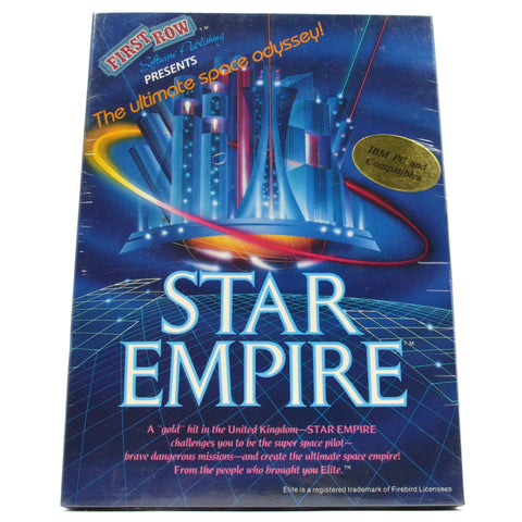 "Brand New! ""STAR EMPIRE"" Factory Sealed COMPUTER GAME for ""IBM PC & COMPATIBLES"""