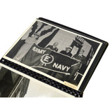 "Vintage ARMY-NAVY ""E"" AWARD 8 Foot PENNANT FLAG + Book & Letters J. ROYLE & SONS"