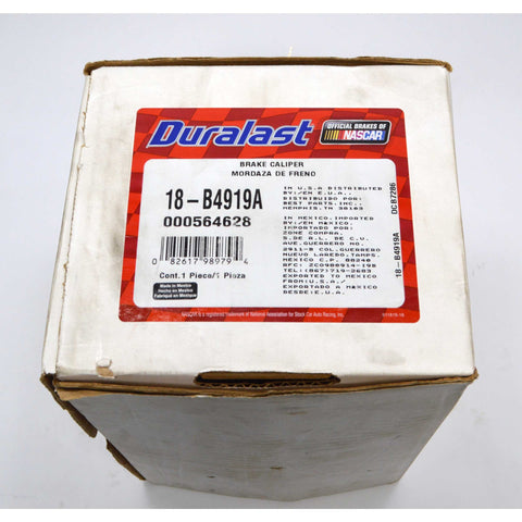 New (Open Box) DURALAST BRAKE CALIPER No. 18-B4919A *QTY: 1* Complete NEVER USED