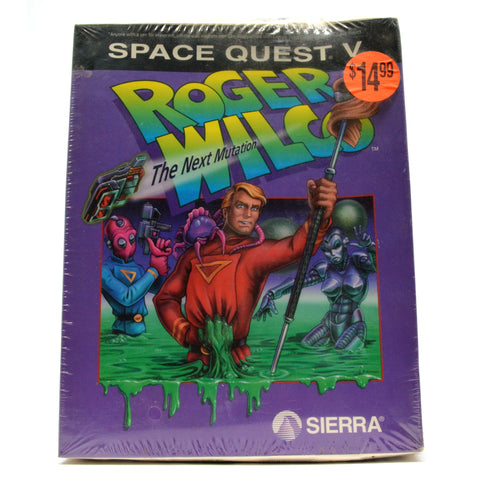 "Brand New! ""ROGER WILCO - THE NEXT MUTATION"" Sealed! COMPUTER GAME Space Quest V"