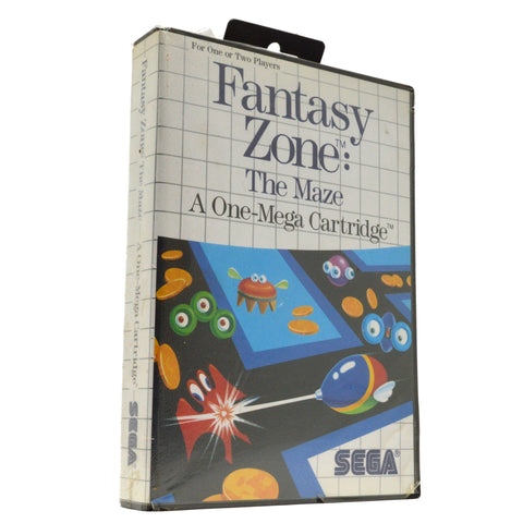"New! SEGA MASTER SYSTEM ""FANTASY ZONE: THE MAZE"" SMS Video Game c.1988 Sealed!"