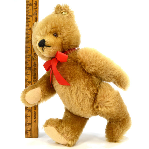 "STEIFF ""VALENTINE"" TEDDY BEAR (No Vest, No Tags) 10"" CINNAMON MOHAIR No. 0211/26"
