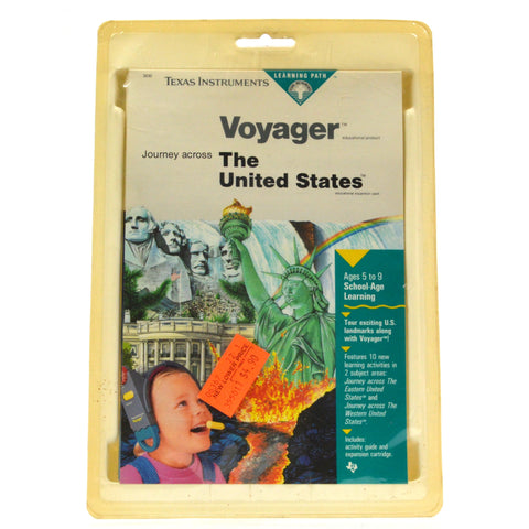 "Brand New! TEXAS INSTRUMENTS ""VOYAGER"" Sealed ""JOURNEY ACROSS THE UNITED STATES"""