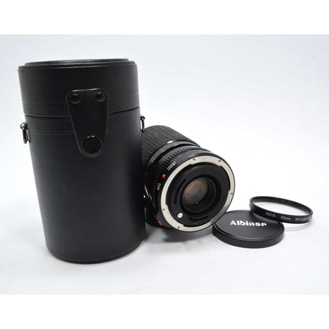 "Looks Good ""SIGMA ZOOM III"" CAMERA LENS 1:3.5-4.5, f=35-135mm, 55 dia. FOR CANON"
