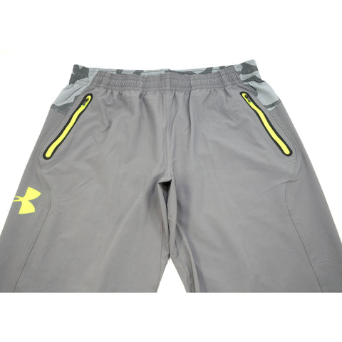 New with Tags! UNDER ARMOUR Fitted COMBINE TRAINING PANTS Tundra Gray SIZE: XL