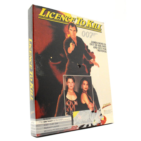 "Sealed! IBM/TANDY/DOS 2.0 ""LICENCE TO KILL"" PC/COMPUTER GAME 007 James Bond NEW!"